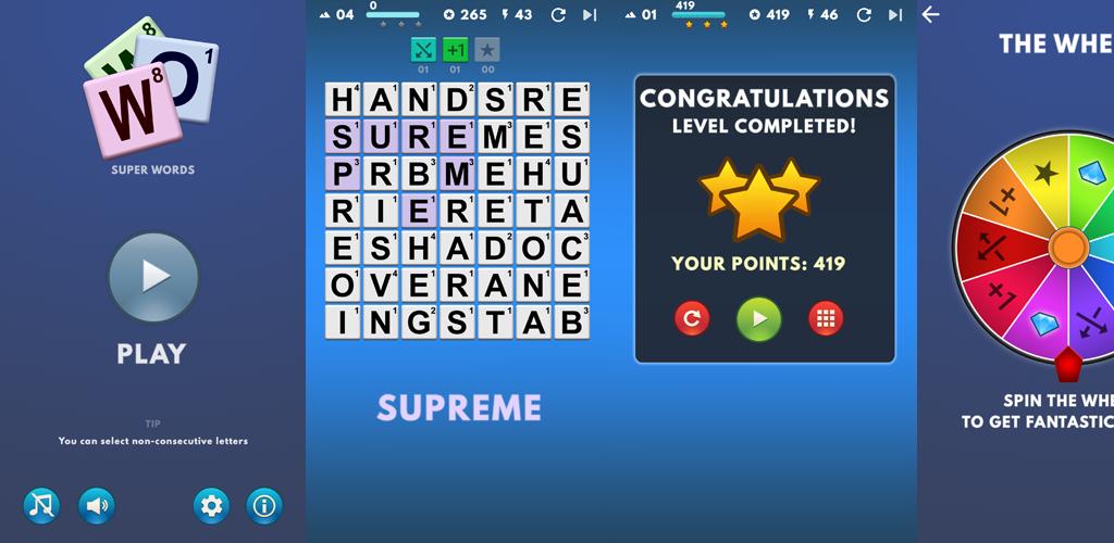 Super Words full screenshot